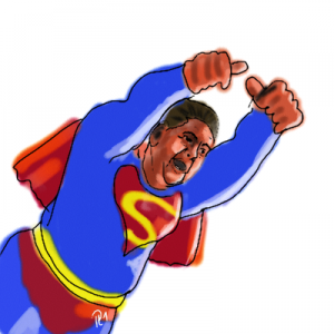 Sigmar Gabriel als Superminister