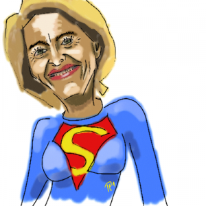 die neue Superministererin?