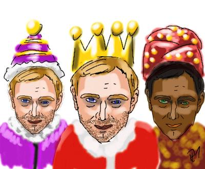 Die drei Könige der FDP  Li1, Li2, Li3