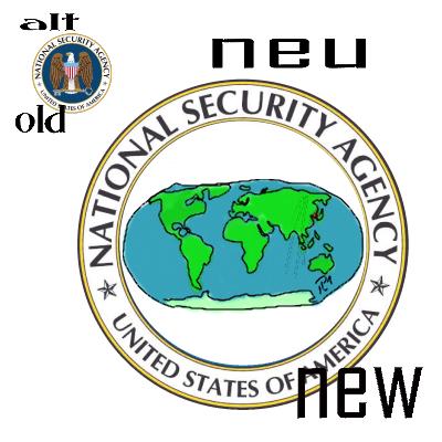 Logo-Vorschlag für die NSA