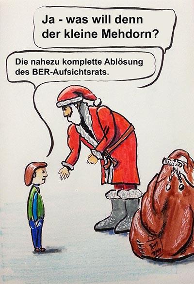 Mehdorn und der Weihnachtsmann