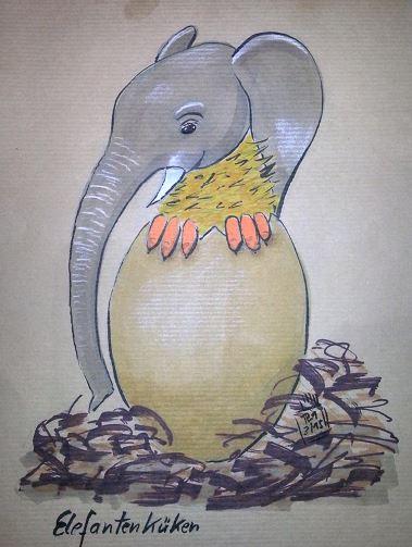 Elefantenküken